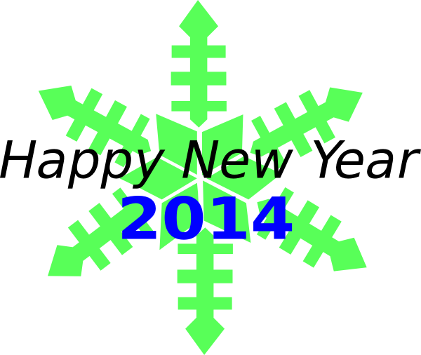 new year's day 2014 clipart - photo #10