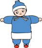 Snow Boy Clip Art