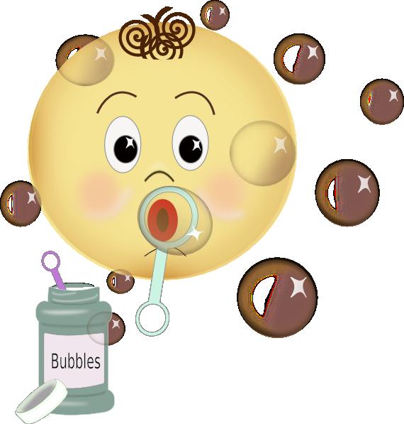 Blowing Bubbles Clip Art at Clker.com - vector clip art ...