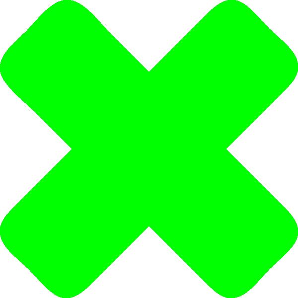 x cross x crossx cross clip art at clkercom vector clip