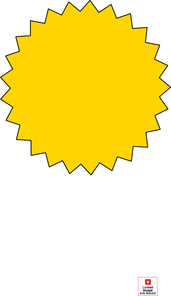 yellow starburst clipart - photo #5