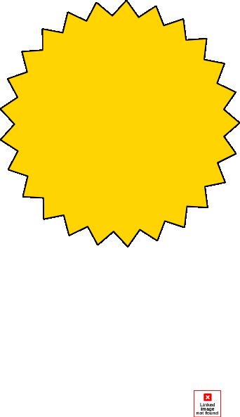 yellow starburst clipart - photo #5