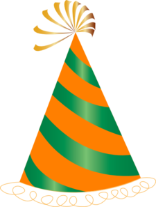 orange and green party hat clip art at clker com vector clip art rh clker com clipart party hat black and white clipart party hat