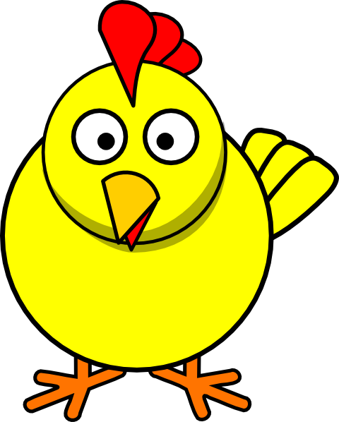 cartoon chicken clip art free - photo #2