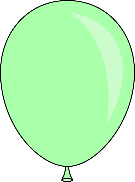 Light Green Balloon Clip Art at Clker.com - vector clip ...