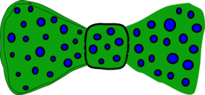 Blue Dots On Green Clip Art