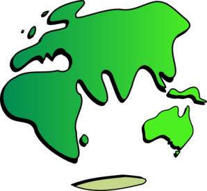 Earth Map Clip Art