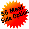 Deli Starbursts Side Option Clip Art