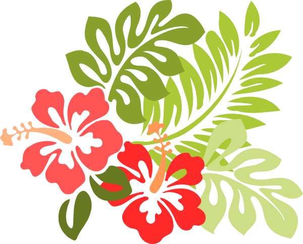 free clip art hawaiian christmas - photo #18