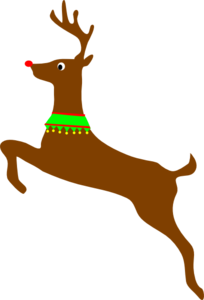 Rudolph The Red Nosed Reindeer  Clip Art