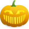 Laughing Jack O' Lantern Clip Art
