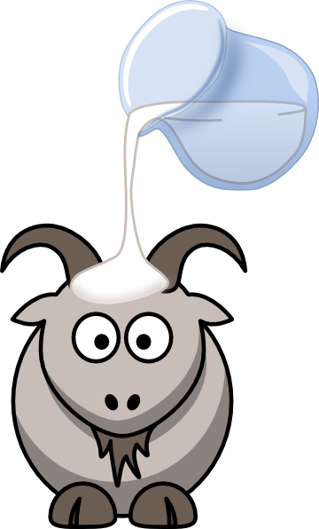 Goat Milk Big Clip Art at Clker.com - vector clip art ...