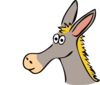 Cartoon Donkey Clip Art