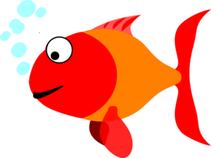 Happy Fish Clip Art
