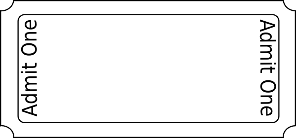 template for a ticket