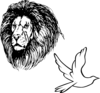 Lion, Currency Clip Art
