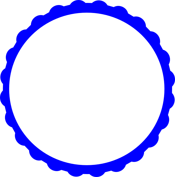 blue circle clip art - photo #18