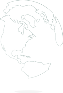 White Globe With Shadow Clip Art