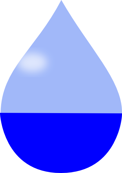 Water Droplet Clipart. Madison S Water Drop clip art