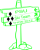 Ski Team Psu Clip Art