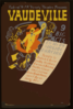 Federal Wpa Variety Theatre Presents Vaudeville 9 Big Acts : Comedy, Singing, Dancing. Clip Art