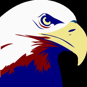 Eagle Red White Blue Clip Art At Clkercom Vector Clip Art Online