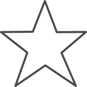 Star-unchecked Clip Art