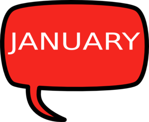 January Clip Art