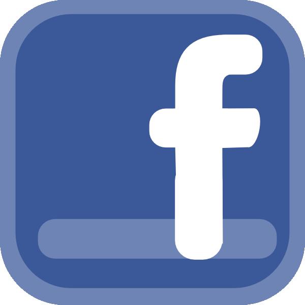 facebook icon clip art at clker com vector clip art online rh clker com