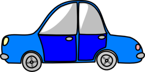 Car Transport Blue Clip Art