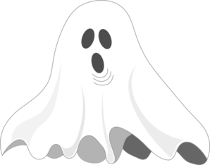 Q Line Art : Ghost clip art at clker vector online royalty free