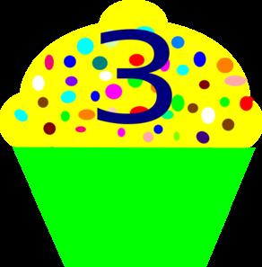 Cupcake 3 Clip Art at Clker.com - vector ...