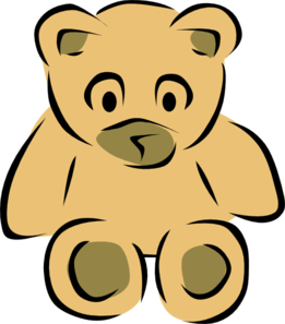 Krome Bear Template Clip Art