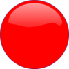 Red Circle Icon Clip Art