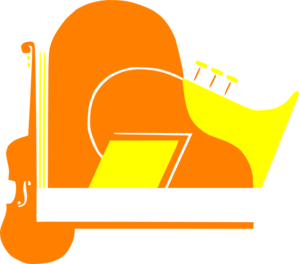 Orange Instruments Clip Art