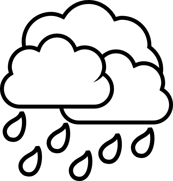 weather storm rain clip art at clker com vector clip art online rh clker com clip art of rain clipart of raindrops