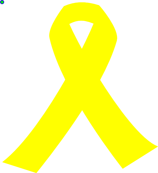 Yellow Ribbon Clip Art at Clker.com - vector clip art online, royalty ...