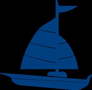 sailboat blue clip art at clker com vector clip art online rh clker com sailboat clip art free images sailboat clip art printable