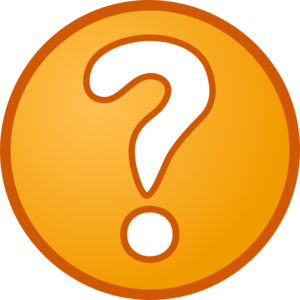 Simple Question Mark Clip Art