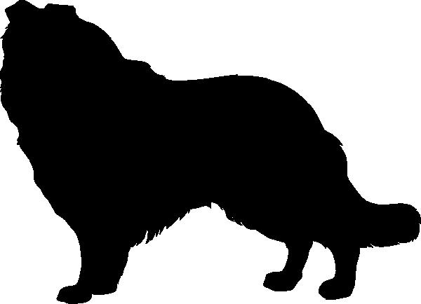 Collie Silhouette Clip Art At Clker Com Vector Clip Art