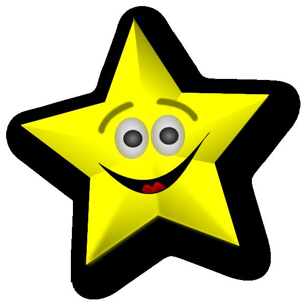 happy star clip art - photo #6