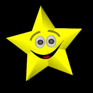 smiling star clip art at clker com vector clip art online royalty rh clker com star clipart free star clipart images