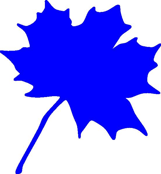 on leaf blue - photo #18