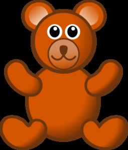 brown teddy bear clip art at clker com vector clip art online rh clker com clipart teddy bear pictures teddy bear clipart