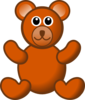 Brown Teddy Bear Clip Art
