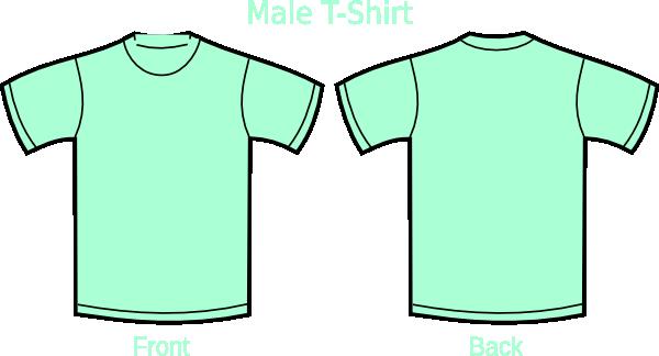 Mint green t shirt clip art at vector clip art for Mint color t shirt