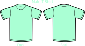 Mint Green T Shirt Clip Art