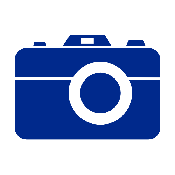 blue camera no border clip art at clker com vector clip art online rh clker com camera clip art pictures camera clipart for photoshop