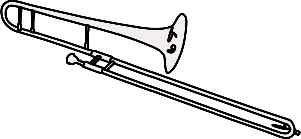 Trombone Clip Art at Clker.com - vector clip art online, royalty free ...