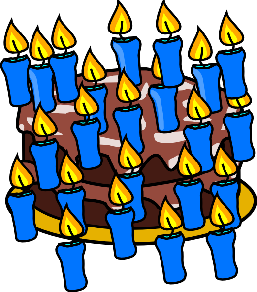 40th birthday cake clip art at clker com vector clip art online rh clker com Happy 40th Birthday Funny Happy 40th Birthday Banner